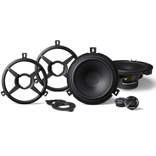 2-Way Weather Resistant Speaker System for 2007-2018 Jeep Wrangler JK