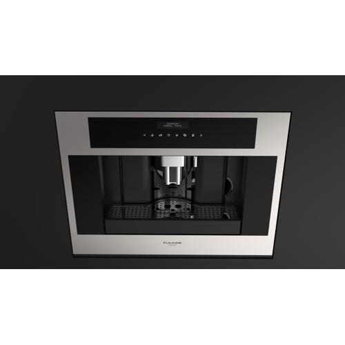 "24"" Built-in Coffee Machine - Stainless Steel"