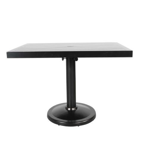 "Monaco 42"" x 28"" Rectangular Pedestal Dining Table"