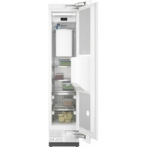 F 2461 Vi MasterCool freezer Integrated IceMaker features separate water and ice dispensers.