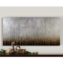 Sterling Branches Hand Painted Canvas