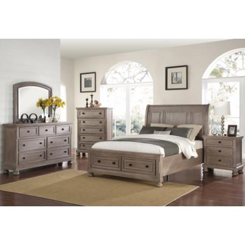 Allegra 4 Pc. King Bedroom Set Petwer