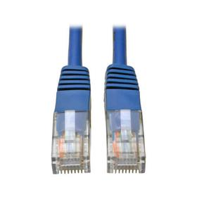 Cat5e 350 MHz Molded (UTP) Patch Cable (RJ45 M/M) - Blue, 10 ft.