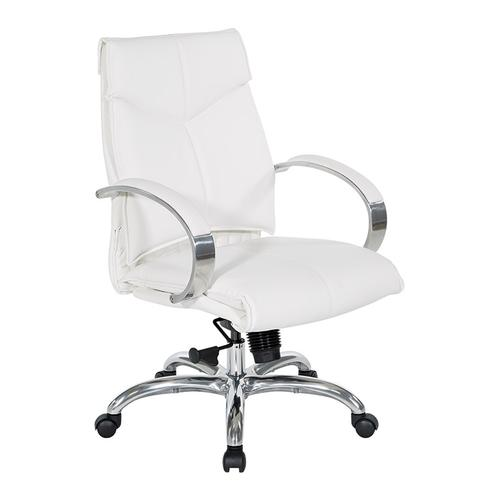 Office Star - Deluxe Mid Back Executive Chair