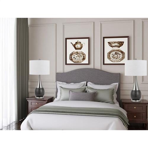 150W 3 Way Sorrento Metal Laser Cut Table Lamp (Priced And Sold in Pairs)