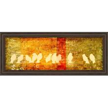 """""""Reunion"""" By Patricia Pinto Framed Print Wall Art"""