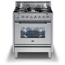 Professional Plus 30 Inch Gas Liquid Propane Freestanding Range in Stainless Steel with Chrome Trim