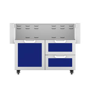 """Hestan - 42"""" Hestan Outdoor Tower Cart with Door/Drawer Combo - GCR Series - Prince"""