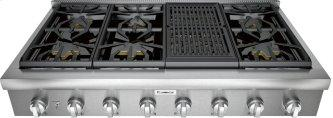 Professional Rangetop 48'' Stainless steel PCG486WL