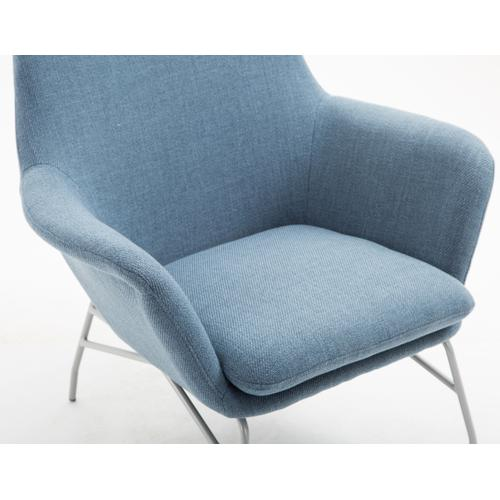 Essex Accent Chair, Uptown Denim U3323-05-04