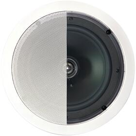 "125-Watt 2-Way 8"" In-Ceiling Speaker with Pivoting Tweeter"