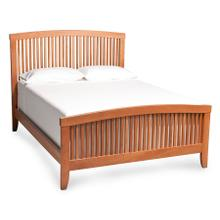 Justine Slat Bed, California King