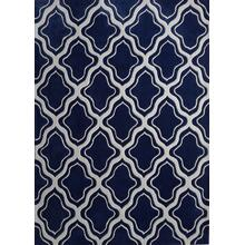 Durable Hand Tufted Transition TF34 Area Rug by Rug Factory Plus - 2' x 3' / Multi Blue