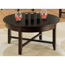 View Product - Demilune Round Coffee Table