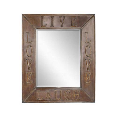 Uttermost - Live Laugh Love Mirror, 2 Per Box