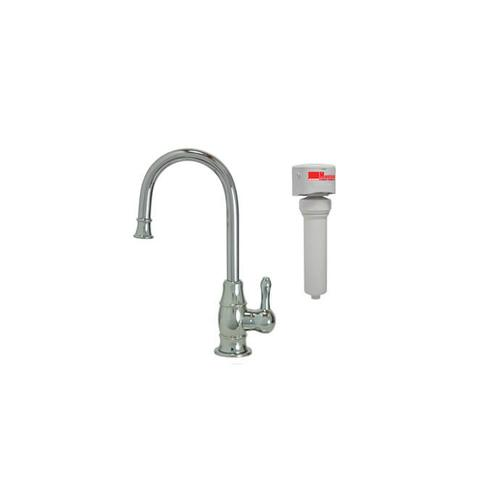 Mountain Plumbing - Point-of-Use Drinking Faucet with Traditional Curved Body & Curved Handle & Mountain Pure® Water Filtration System - PVD Oil Rubbed Bronze