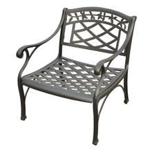 Sedona Metal Club Chair