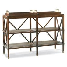 See Details - Tiered Tray Console