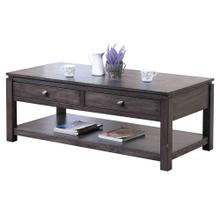 Product Image - Coffee Table w/Drawers and Shelf - Shades of Gray