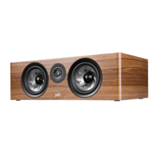 LARGE CENTER CHANNEL SPEAKER in Brown Walnut