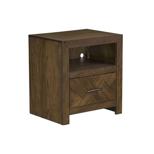 Turner Youth Nightstand, Honey Brown