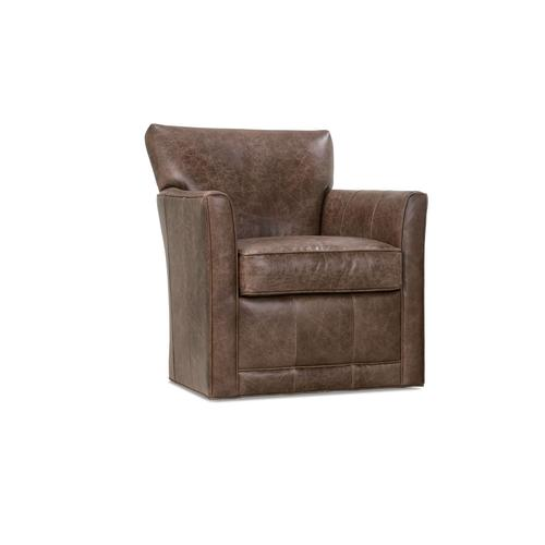 Times Square Leather Swivel
