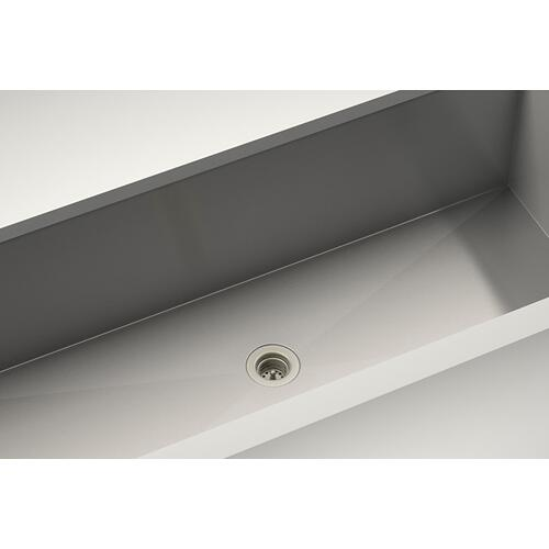 Drain 100085 - Stainless steel sink accessory , Satin Nickel, 2""