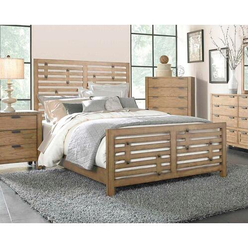 Ember Grove Panel Bed, Queen