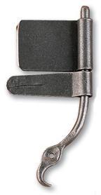 Wrought Iron Rat Tail Hinge Product Image