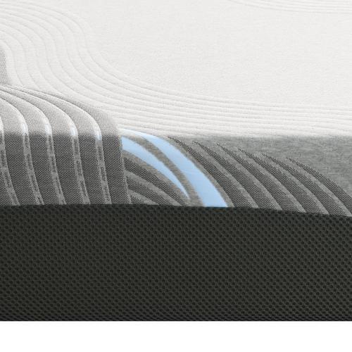 "Emerald Home Mattress Starlight II 12"" Gel-memory Foam Twin XL Es5212txlm-01"