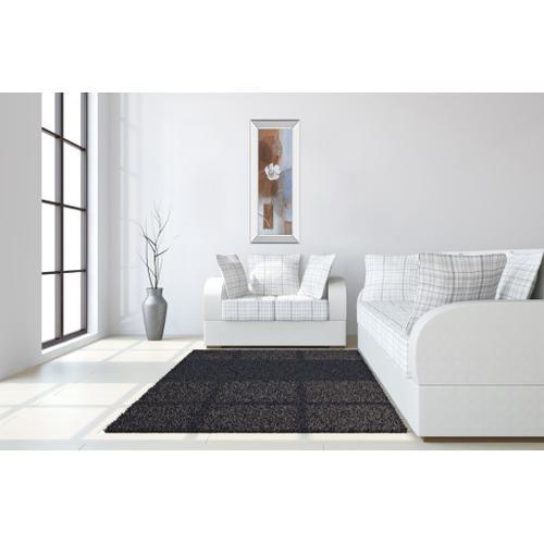 """""""White Flower I"""" Mirror Framed Print Wall Art"""