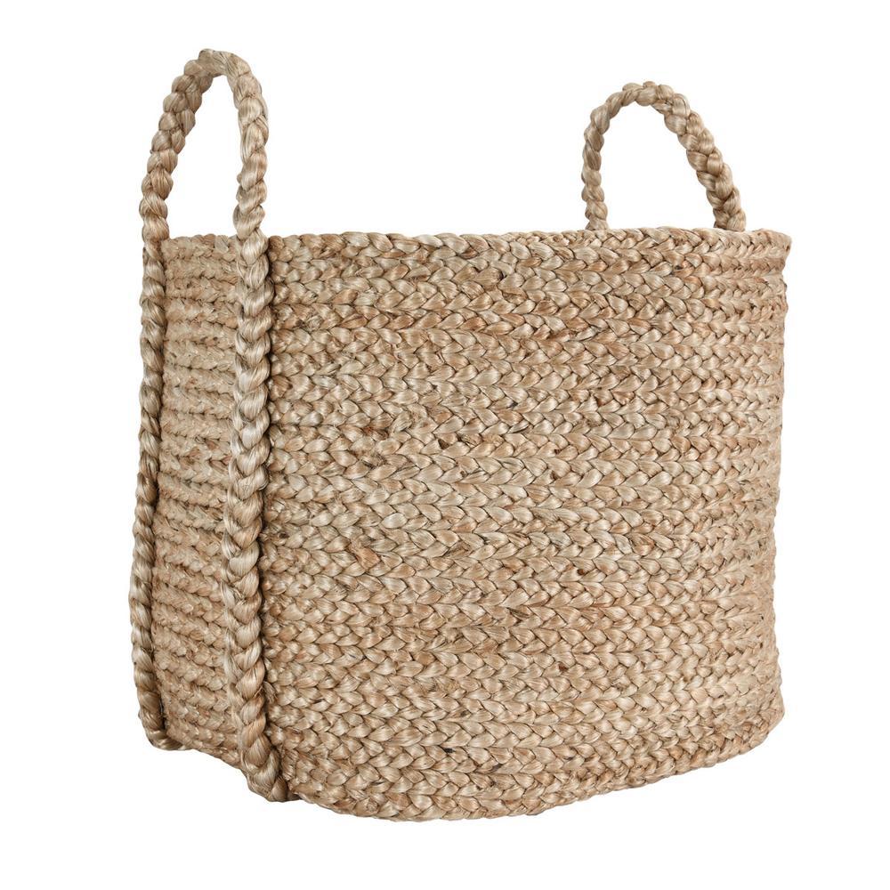 See Details - Jute Basket Natural