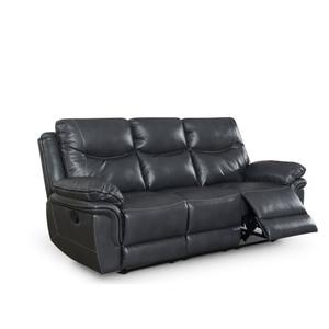 Steve Silver Co.Isabella Manual Reclining Sofa, Grey