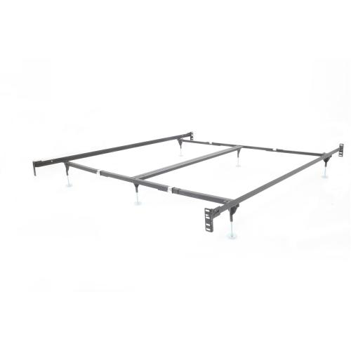 CS-381-AGFB Frame with Footboard Brackets for California King Beds