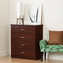 4-Drawer Chest Dresser - Royal Cherry