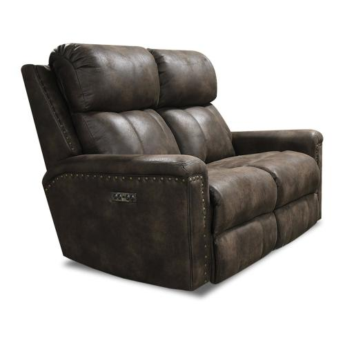 1C03N EZ1C00 Double Reclining Loveseat with Nails