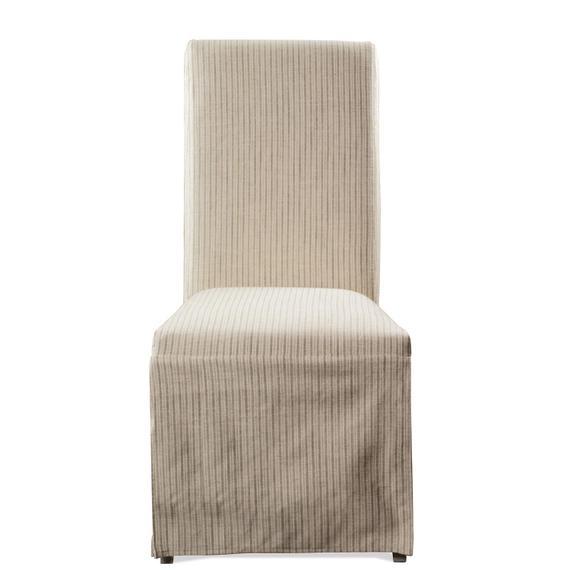 Riverside - Osborne - Upholstered Slipcover Chair - Gray Skies Finish