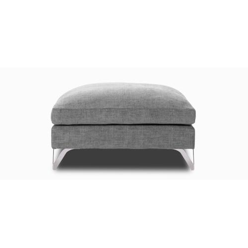 GLAMOUR Large square Ottoman (256)