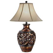 "29.5""H Poly Table Lamp"