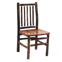 Spoke Side Chair - Cognac - Wood seat