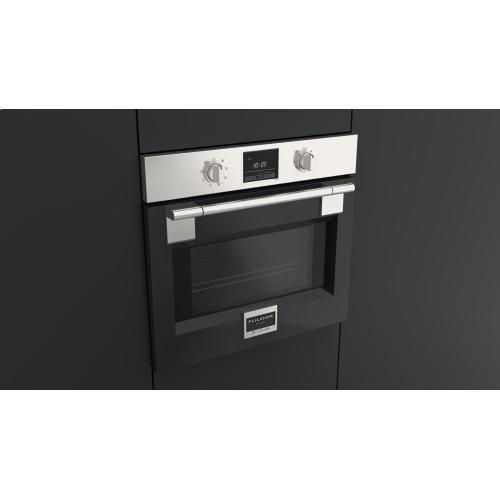 "30"" Pro Single Oven - Glossy Black"