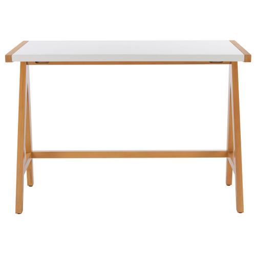 Ripley Desk - Oak / White