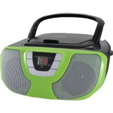 See Details - Portable CD Radio Boom Box (Teal)