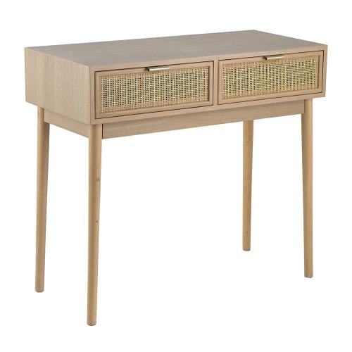 A & B Home - Console Table,Natural
