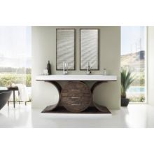 "Oasis 72"" Double Bathroom Vanity, Olive Ash Eclipse"