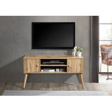 "See Details - 2024 OAK Faux Wood TV Stand - 47"" L"