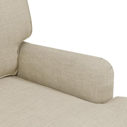 Abby Chair in Heirloom Natural / Linen