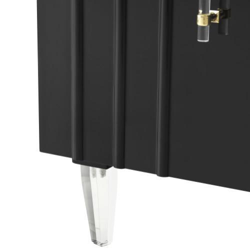 Product Image - Famke Black Lacquer Buffet