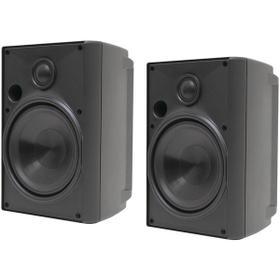 """4"""" 2-Way Indoor/Outdoor Speakers (Black)"""