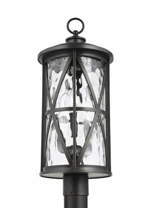 3 - Light Outdoor Post Lantern Product Image